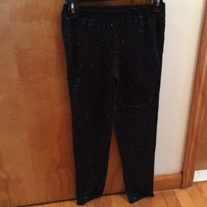 Girls Gap sparkle leggings